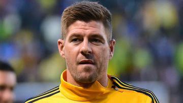 Steven Gerrard mantan kapten Liverpool.