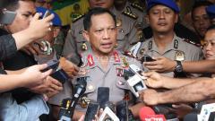 Indosport - Kapolda Metro Jaya Irjen Pol Tito Karnavian