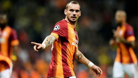 Pemain Galatasaray, Weisley Sneijder. - INDOSPORT