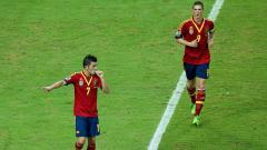 Indosport - David Villa (Vissel Kobe), memutuskan pensiun menyusul rekan senegaranya, Fernando Torres.