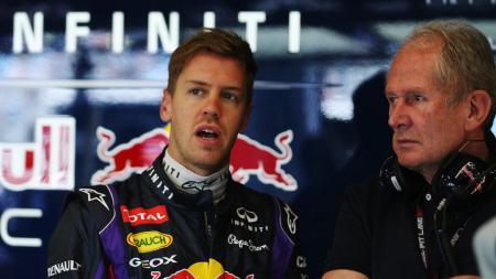 Helmut Marko bersama Max Verstappen saat masih membela Red Bull Racing - INDOSPORT