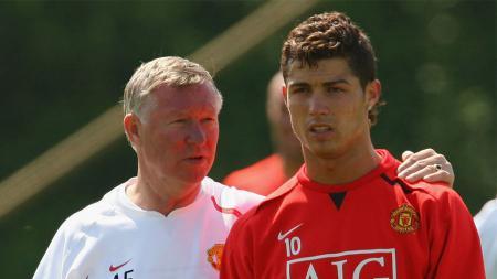 Kisah Cristiano Ronaldo yang dicolong dari Sporting Lisbon dan gabung Manchester United berkat pengelihatan sekilas Sir Alex Ferguson. - INDOSPORT