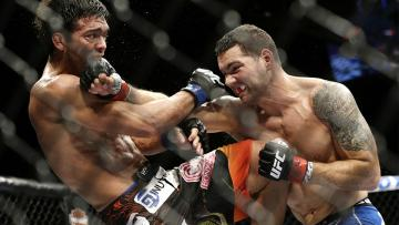 Ilustrasi pertarungan Mix Martial Arts (MMA).