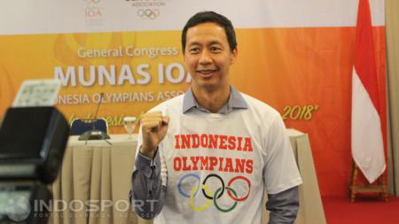 Ketua Badan Olahraga Profesional (BOPI), Richard Sam Bera langsung memberikan komentar dengan sedikit emosi. - INDOSPORT
