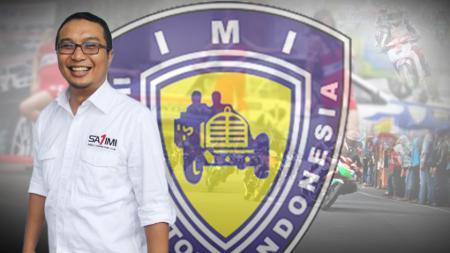 Sadikin Aksa, Ketua Umum Ikatan Motor Indonesia (IMI).