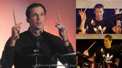 Indosport - Selain handal sebagai kiper, Petr Cech juga jago menggebuk drum
