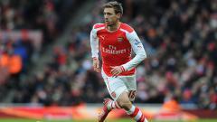 Indosport - Nacho Monreal resmi meninggalkan Arsenal dan bergabung dengan klub LaLiga Spanyol, Real Sociedad.