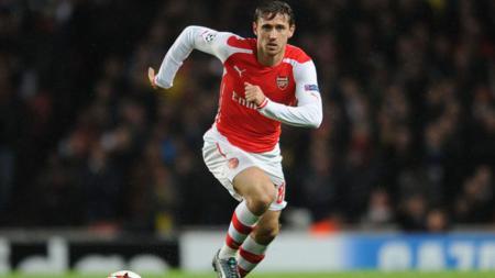 Nacho Monreal, bintang Arsenal. - INDOSPORT