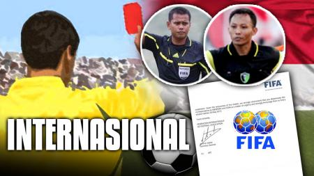 Ilustrasi Wasit Indonesia yang meng-Internasional dengan Lisensi FIFA - INDOSPORT