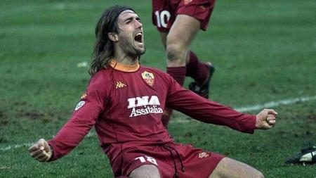 Legenda AS Roma, Gabriel Batistuta. - INDOSPORT