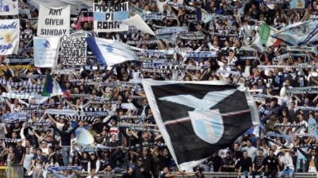 Suporter Lazio. - INDOSPORT