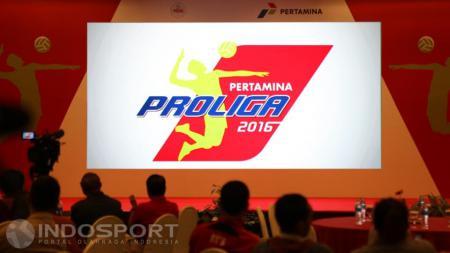 Logo terbaru Proliga 2016 - INDOSPORT