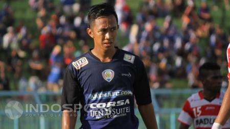 Striker Arema Cronus, Antoni Putro Nugroho. - INDOSPORT