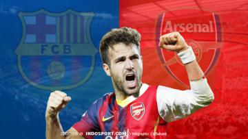 Barcelons-Arsenal Cesc Fabregas