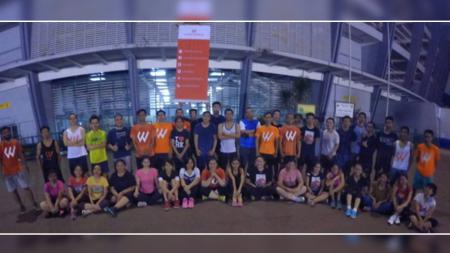 Komunitas Workout Embassy. - INDOSPORT