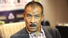 Indosport - Manajer Persib Bandung Umuh Muchtar.