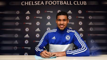 Ruben Loftus-Cheek saat pertama kali bergabung dengan Chelsea. - INDOSPORT