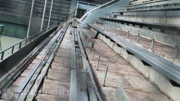 Kondisi miris lapangan tenis Senayan yang wajib direnovasi jelang Asian Games 2018