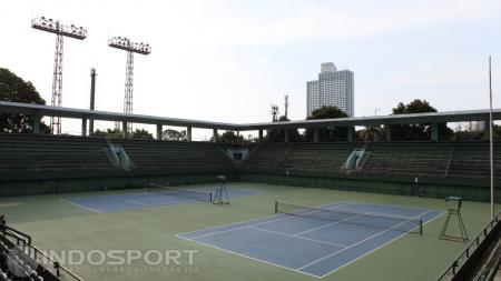 Lapangan Tenis Senayan, Jakarta - INDOSPORT
