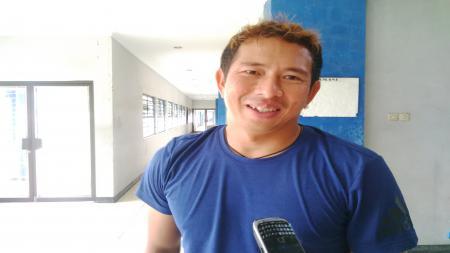 I Made Wirawan merupakan penjaga gawang senior yang kualitasnya tak perlu diragukan lagi di bawah mistar tim sepak bola Persib Bandung. - INDOSPORT