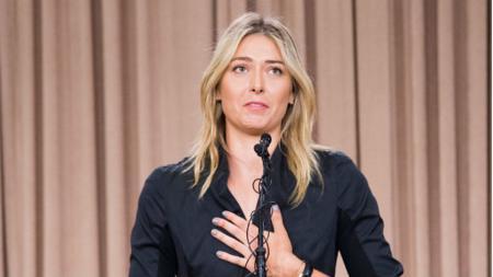 Maria Sharapova memberi tanggapan terhadap kritik yang diberikan oleh Eugenie Bouchard. - INDOSPORT