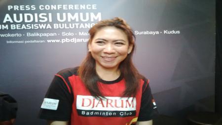 Susi Susanti salah satu legenda bulutangkis Indonesia. - INDOSPORT