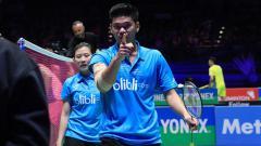 Indosport - Media China soroti satu wakil Indonesia yakni pasangan Praveen Jordan/Debby Susanto yang sukses gegerkan All England meskipun berstatus unggulan 8.