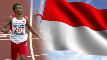 Atlet lari nasional, Iswandi. - INDOSPORT