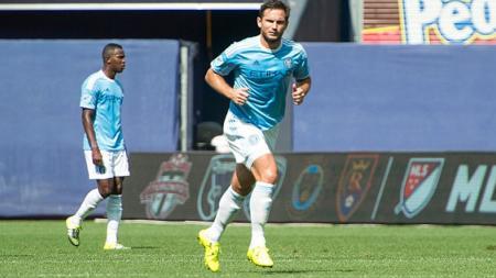 Frank Lampard gelandang New York City. - INDOSPORT