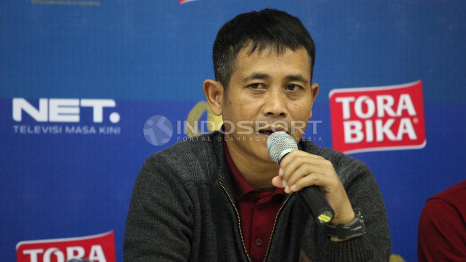 Asisten pelatih Arema, Joko Susilo. Copyright: Herry Ibrahim/INDOSPORT