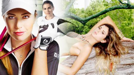 Anastasia Ashley, Alex Morgan, Paula Creamer. - INDOSPORT