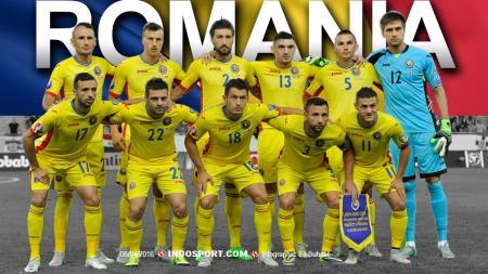 Skuat Tim Nasional Rumania. - INDOSPORT