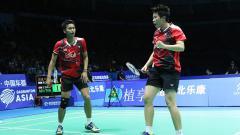 Indosport - Tontowi Ahmad (kiri) dan Liliyana Natsir lolos ke final Badminton Asia Championship 2016.