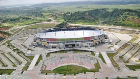 Fasilitas Olahraga yang dibangun di Papua jelang PON XX 2020. - INDOSPORT