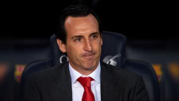 Unai Emery, pelatih Paris Saint-Germain.