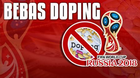 Panitia Penyelenggara janjikan Piala Dunia 2018 bebas dari doping. - INDOSPORT