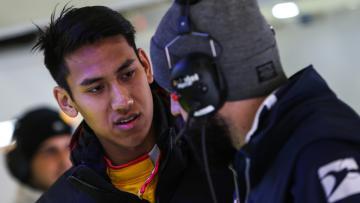 Pembalap GP2 asal Indonesia, Sean Gelael.