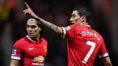 Indosport - Angel Di Maria dan Radamel Falcao