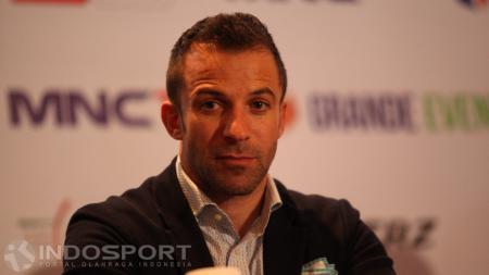 Legenda Juventus dan Italia, Alessandro Del Piero. - INDOSPORT