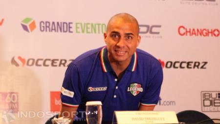 Legenda Juventus dan Perancis, David Trezeguet. - INDOSPORT
