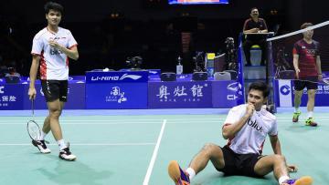 Angga Pratama/Ricky Karanda Suwardi melangkah ke babak kedua Australian Open 2016.