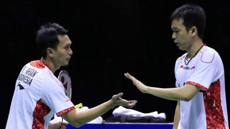 Hendra Setiawan/Mohammad Ahsan merupakan satu-satunya perwakilan Indonesia di Jepang Terbuka 2016. - INDOSPORT
