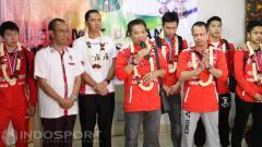 Indosport - Sekjen PBSI memberikan tanggapan mengenai enam nama calon Ketum PBSI yang dirilis oleh pengamat, komentator, dan penulis buku olahraga bulutangkis, Broto Happy.