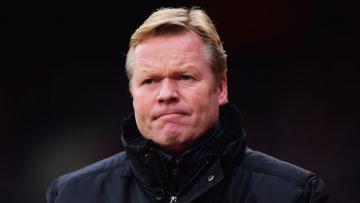 Pelatih Everton, Ronald Koeman.