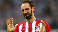 Indosport - Bek Atletico Madrid, Juanfran.