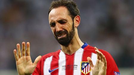 Bek Atletico Madrid, Juanfran. - INDOSPORT
