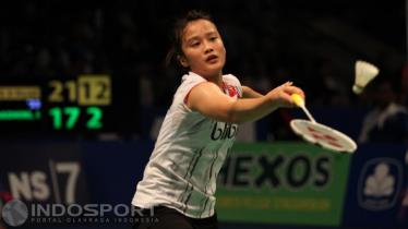 Tunggal putri Indonesia Hanna Ramadini. - INDOSPORT