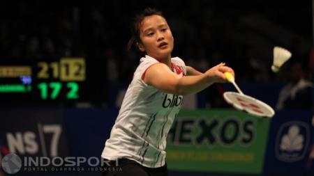 Tunggal putri Indonesia dalam beberapa turnamen internasional sulit meraih gelar juara. - INDOSPORT