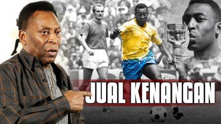 Legendaris Brasil, Edson Arantes do Nascimento aka Pele. - INDOSPORT