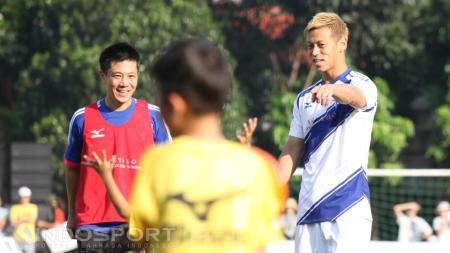 Setelah mendatangkan Marco Motta, Persija Jakarta masih mengincar eks AC Milan, Keisuke Honda jelang bergulirnya Liga 1 2020. - INDOSPORT